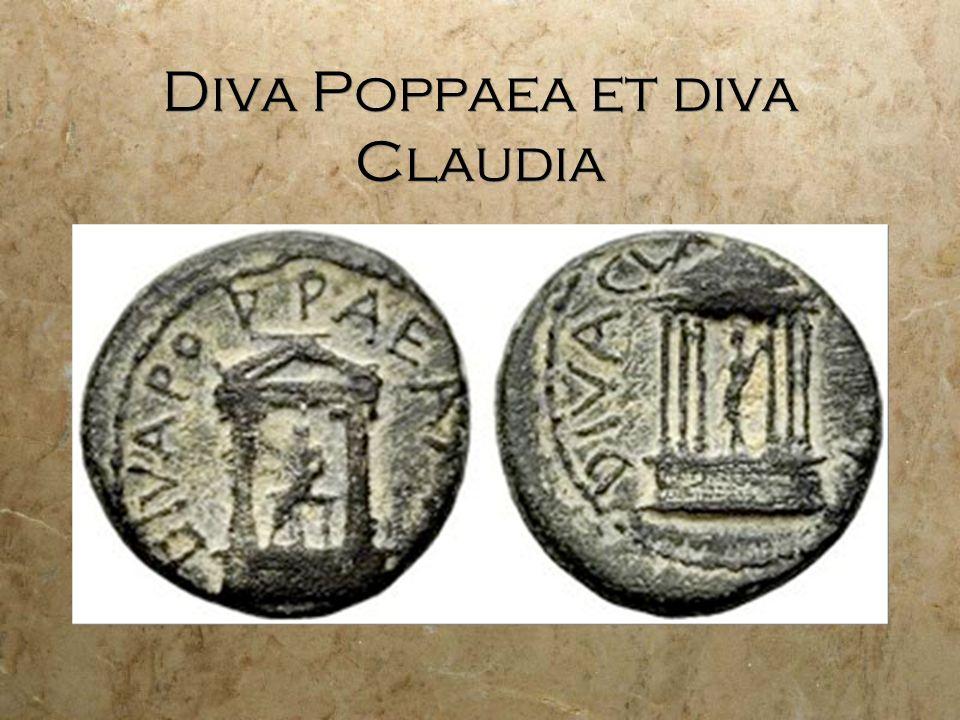 Diva Poppaea et diva Claudia