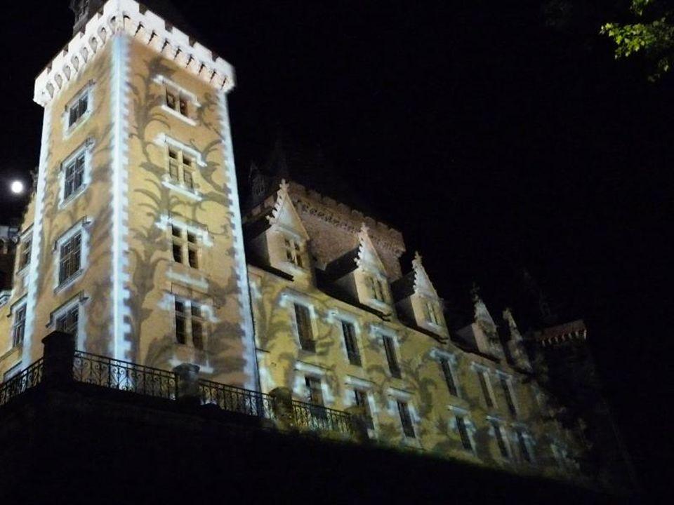 Les façades du château se parent de belles couleurs, de magnifiques images ou de tableaux vivants