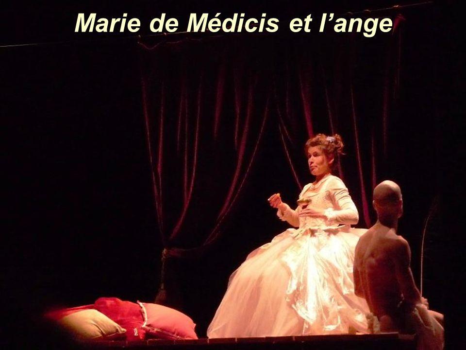 Marie de Médicis et lange