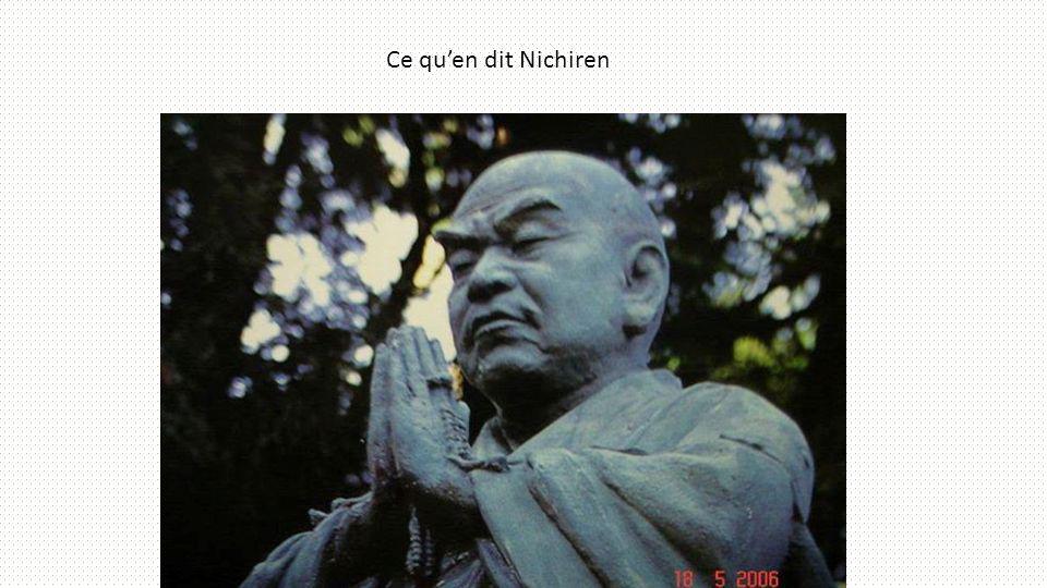 Ce quen dit Nichiren