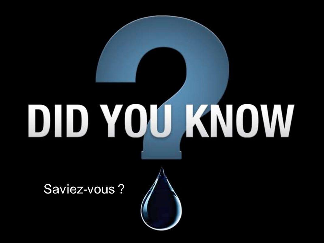 Saviez-vous ?
