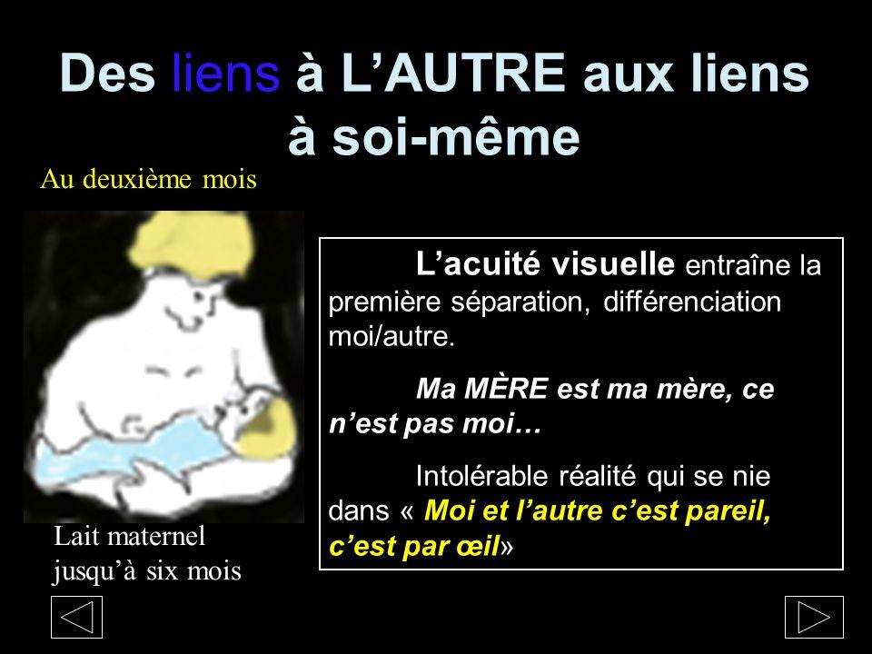 Les LIENS et les TRANSITIONS Dans le miroir une IMAGE Y NÉ .