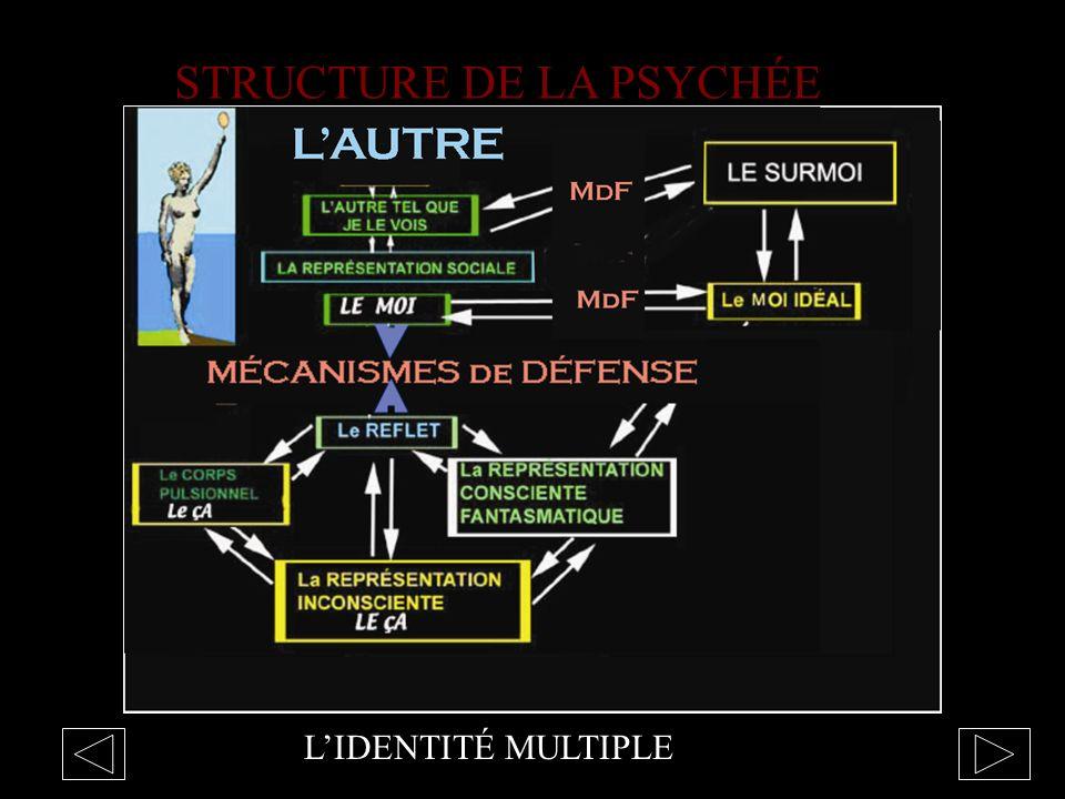 LIDENTITÉ MULTIPLE STRUCTURE DE LA PSYCHÉE