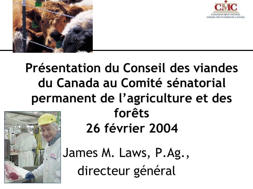 Quest-ce que le Conseil des viandes du Canada.