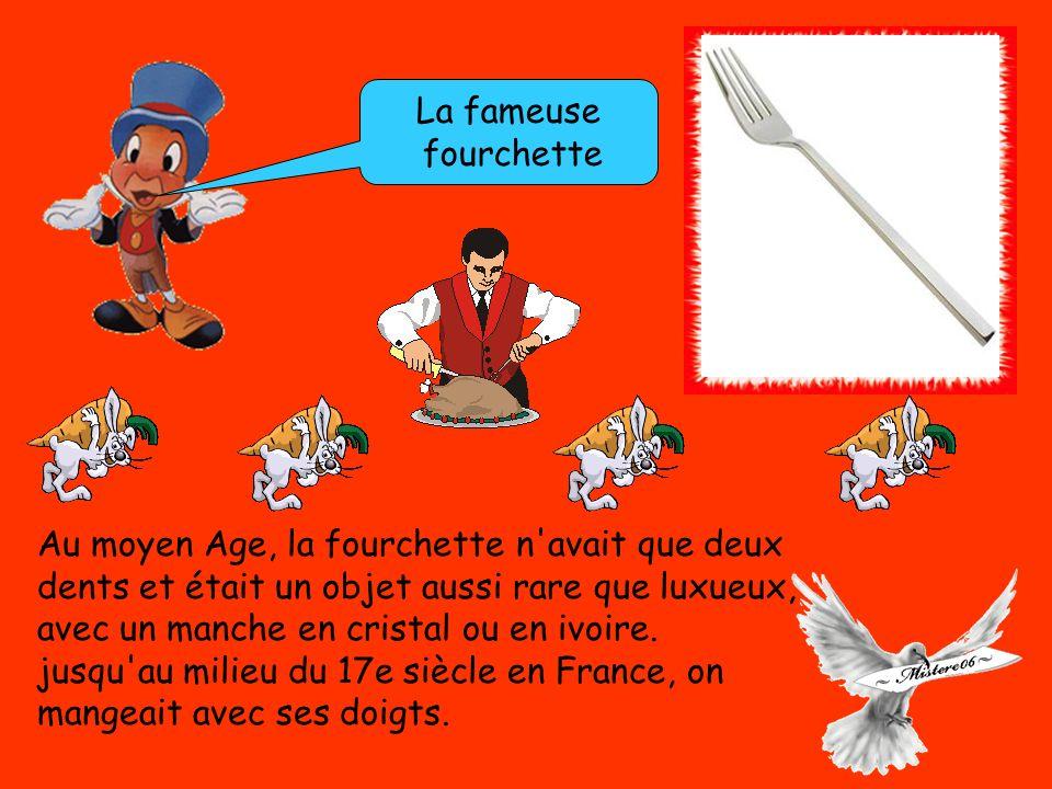 Pourquoi trouve t on des couteaux avec des bouts-ronds Au moyen-âge, le cardinal de Richelieu irrité que les gentilshommes se curent les dents à table