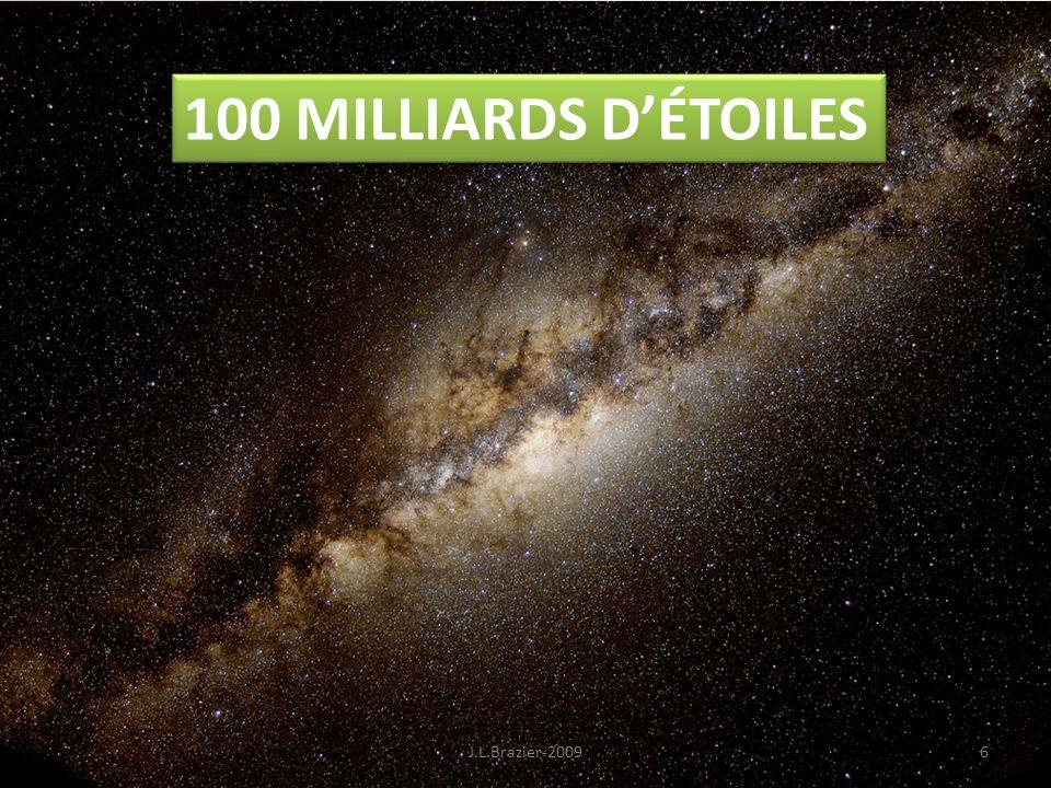 100 MILLIARDS DÉTOILES 6J.L.Brazier-2009