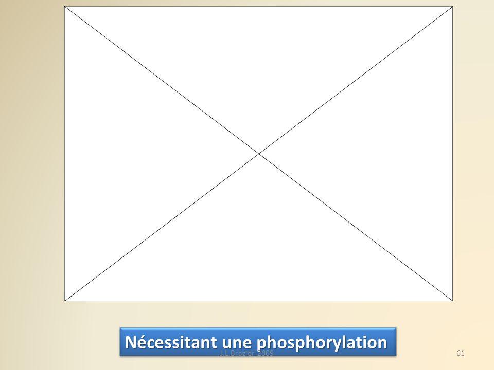 Nécessitant une phosphorylation 61J.L.Brazier-2009