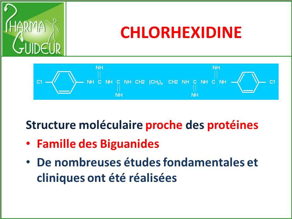 Solutions thérapeutiques associées en Hygiène Bucco-dentaire Synergies de 3 principes actifs : Chlorhexidine Fluor Xylitol