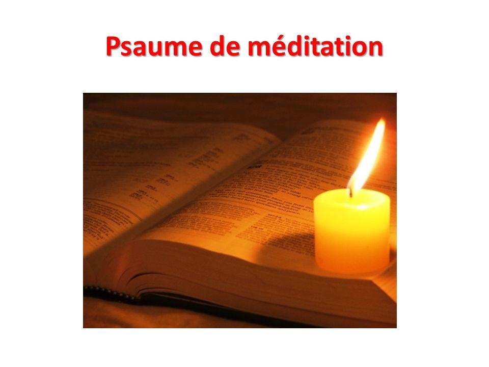 «Heureux les hommes intègres dans leurs voies qui marchent suivant la loi du Seigneur .