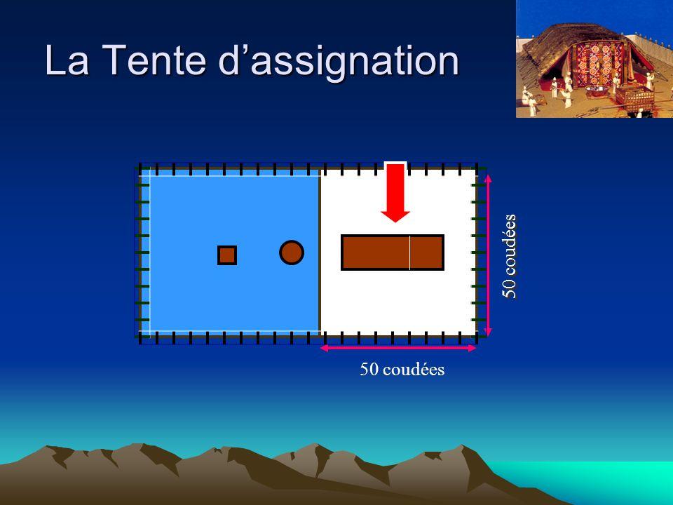 La Tente dassignation 50 coudées