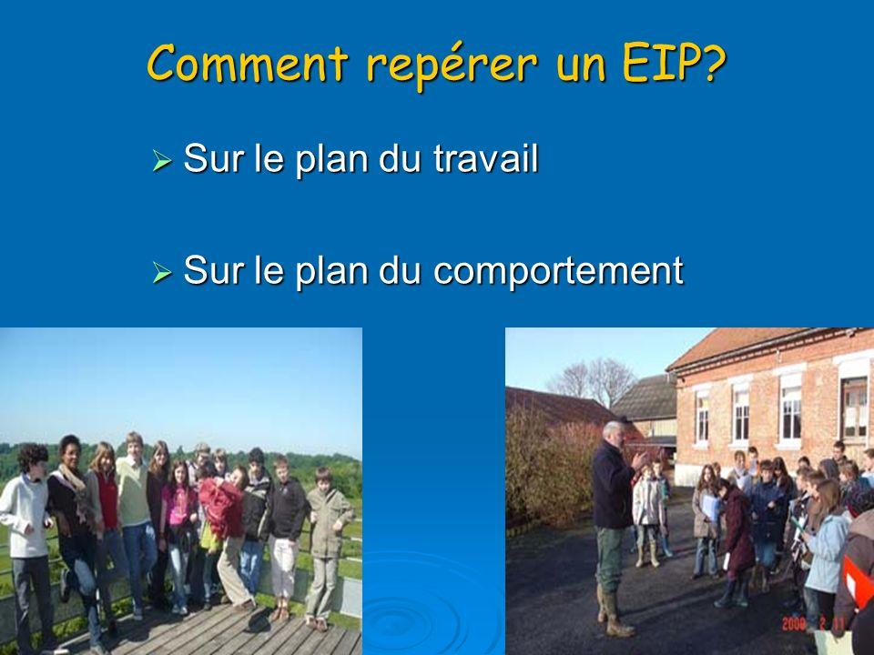 Comment repérer un EIP.