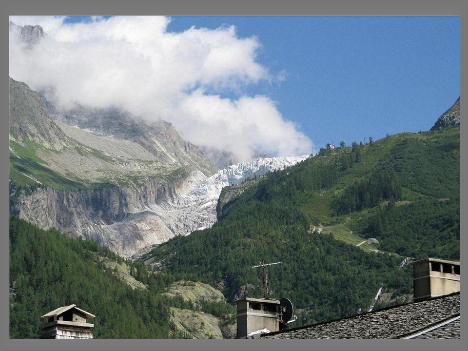 Argentière, Léglise et le glacier