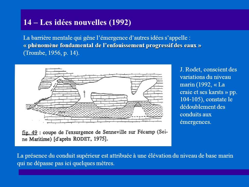 15 – Les puits-cheminées (1998) N.Boinet & H. Camus (1998, 8e R.