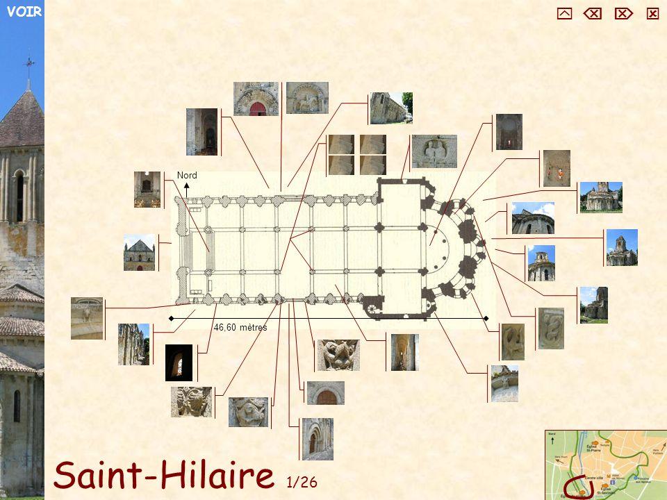Saint-Hilaire 1/26 Nord 46,60 mètres VOIR
