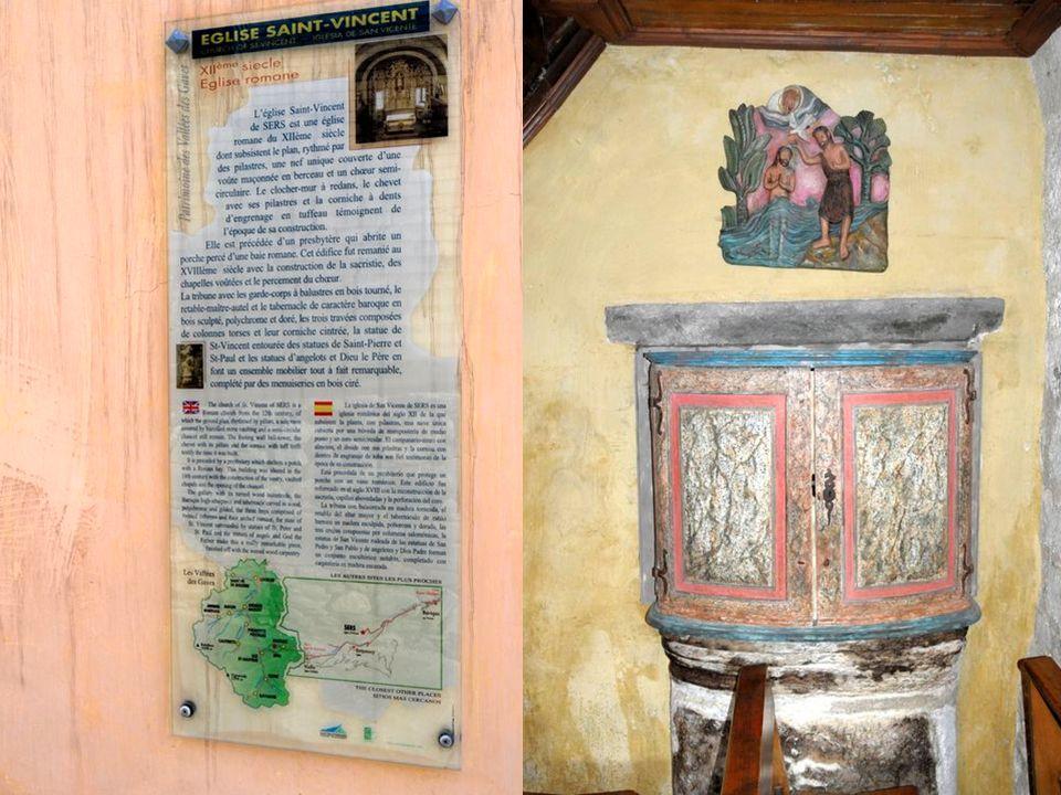A 1150 mètre daltitude, dominant la Batsus, le village reste une petite perle dauthentique de Hautes Pyrénées ! Son église du XIIe siècle possède une