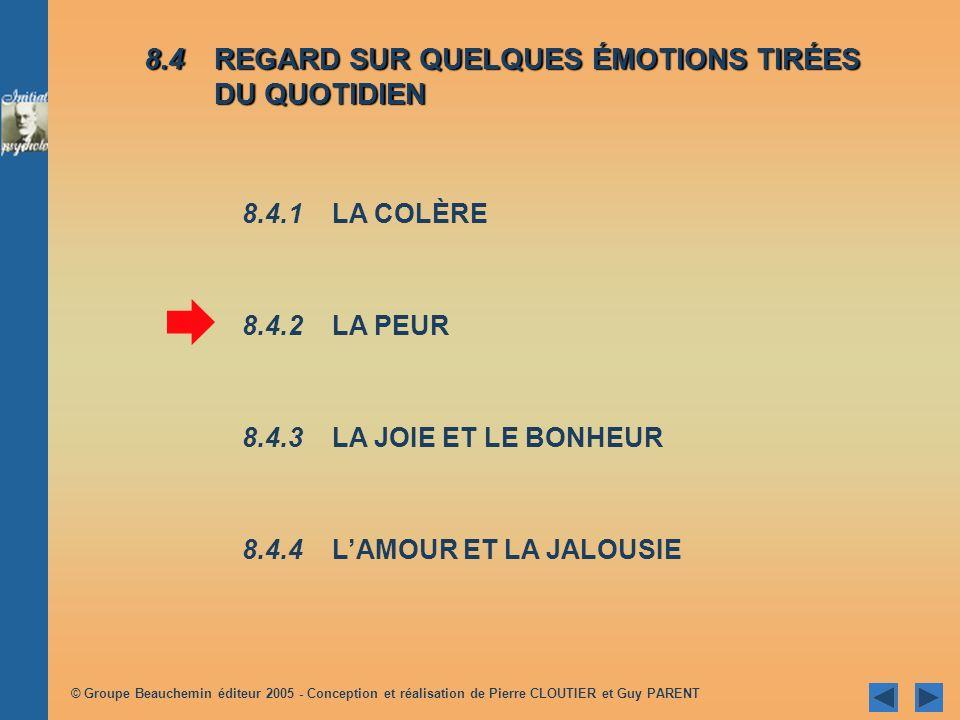 © Groupe Beauchemin éditeur 2005 - Conception et réalisation de Pierre CLOUTIER et Guy PARENT Réactionsituationsinacceptables Réaction à certaines sit