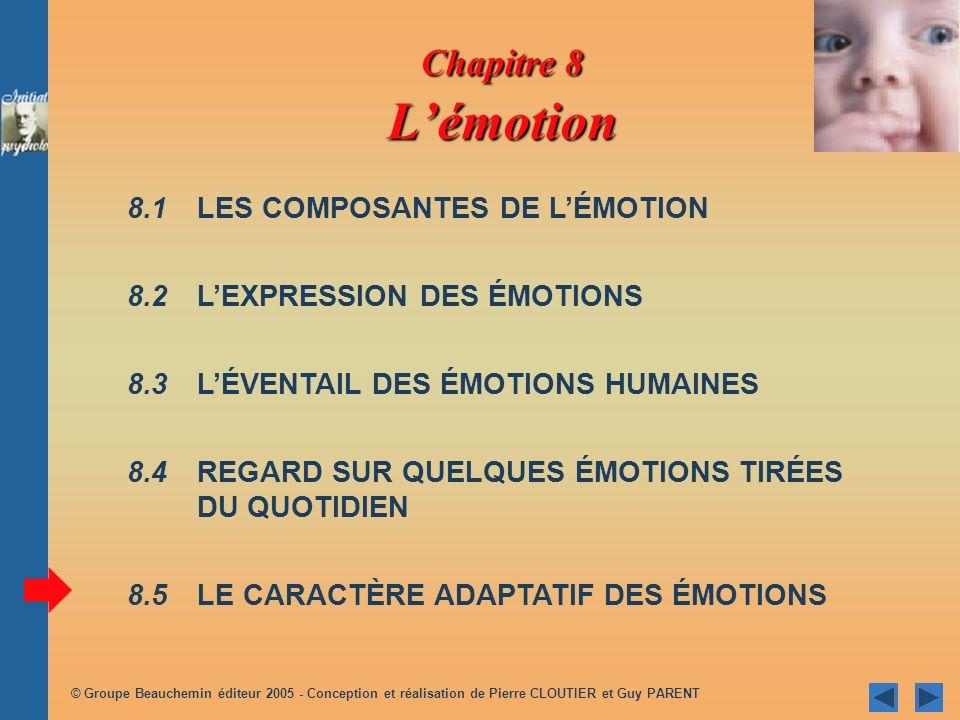 © Groupe Beauchemin éditeur 2005 - Conception et réalisation de Pierre CLOUTIER et Guy PARENT Amour concept complexe différents types différents types