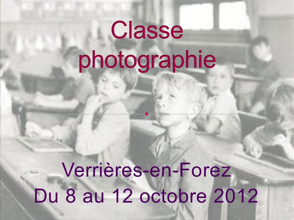 Verrières-en-Forez Du 8 au 12 octobre 2012