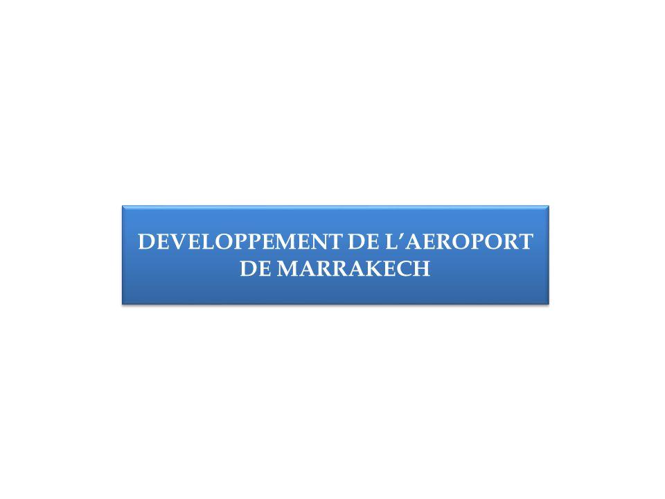 DEVELOPPEMENT DE LAEROPORT DE MARRAKECH
