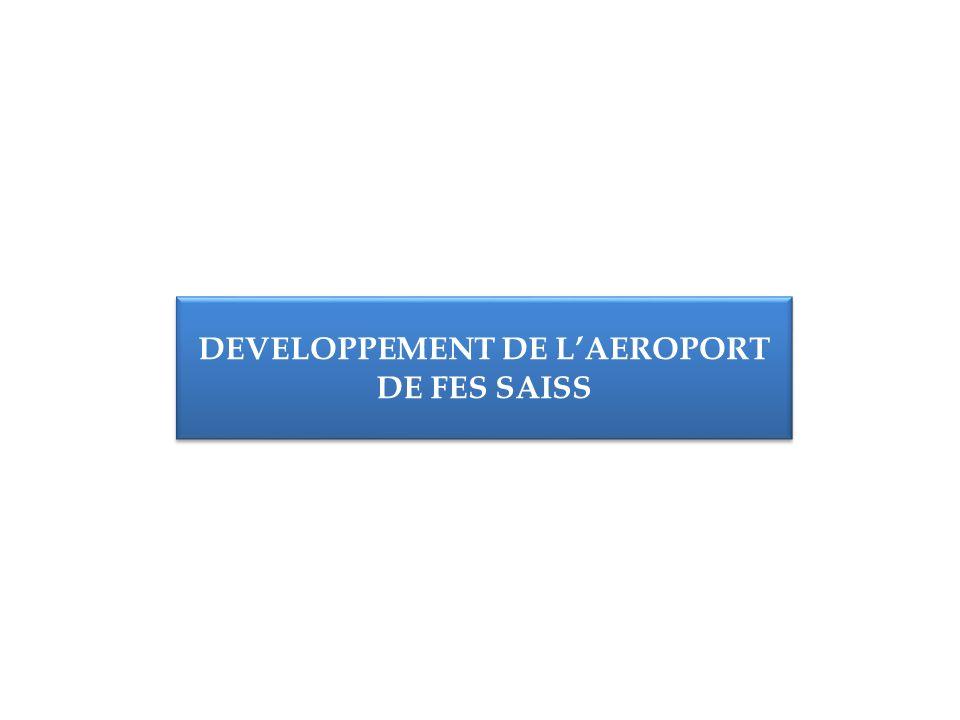 DEVELOPPEMENT DE LAEROPORT DE FES SAISS