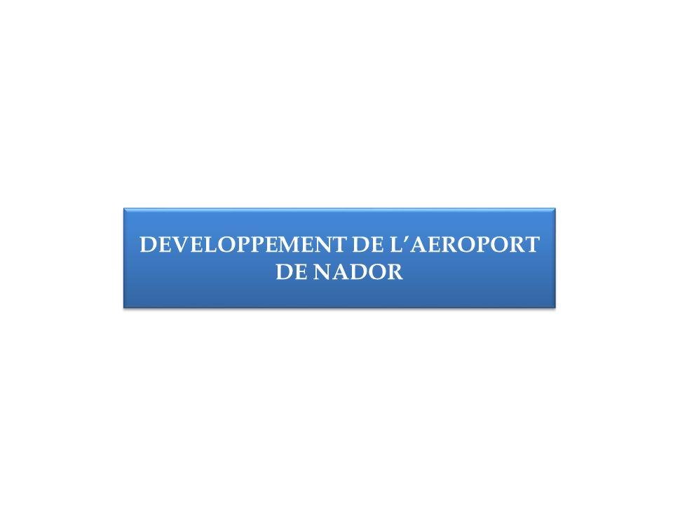 DEVELOPPEMENT DE LAEROPORT DE NADOR