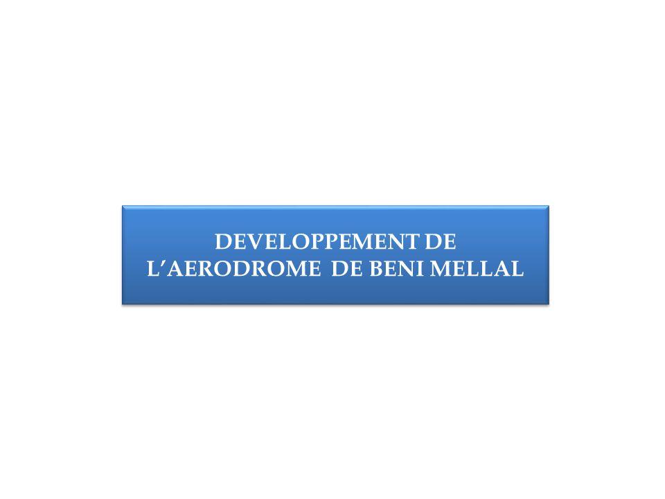 DEVELOPPEMENT DE LAERODROME DE BENI MELLAL