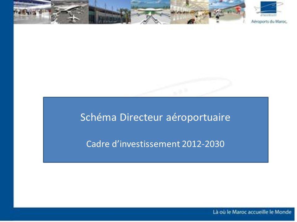 Schéma Directeur aéroportuaire Cadre dinvestissement 2012-2030