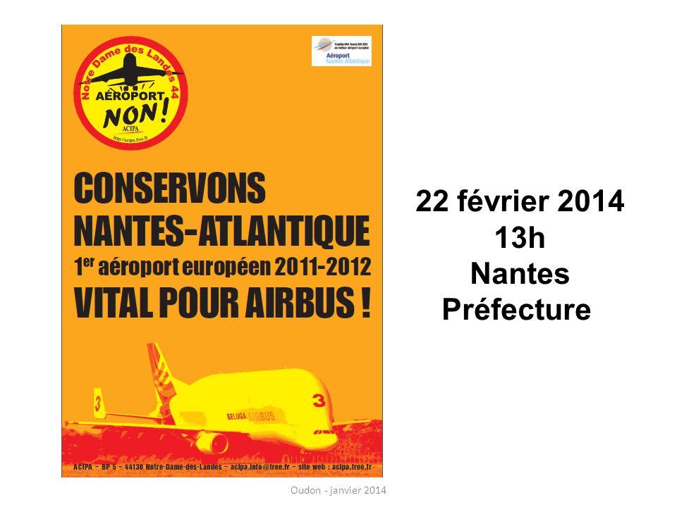 22 février 2014 13h Nantes Préfecture Oudon - janvier 2014