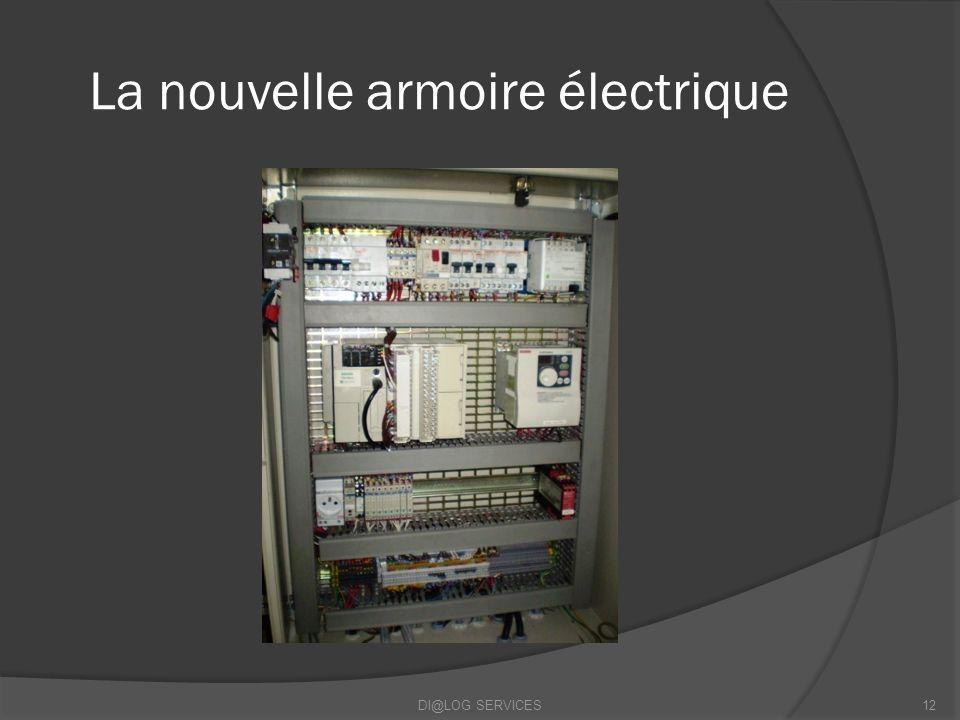 La nouvelle armoire électrique DI@LOG SERVICES12