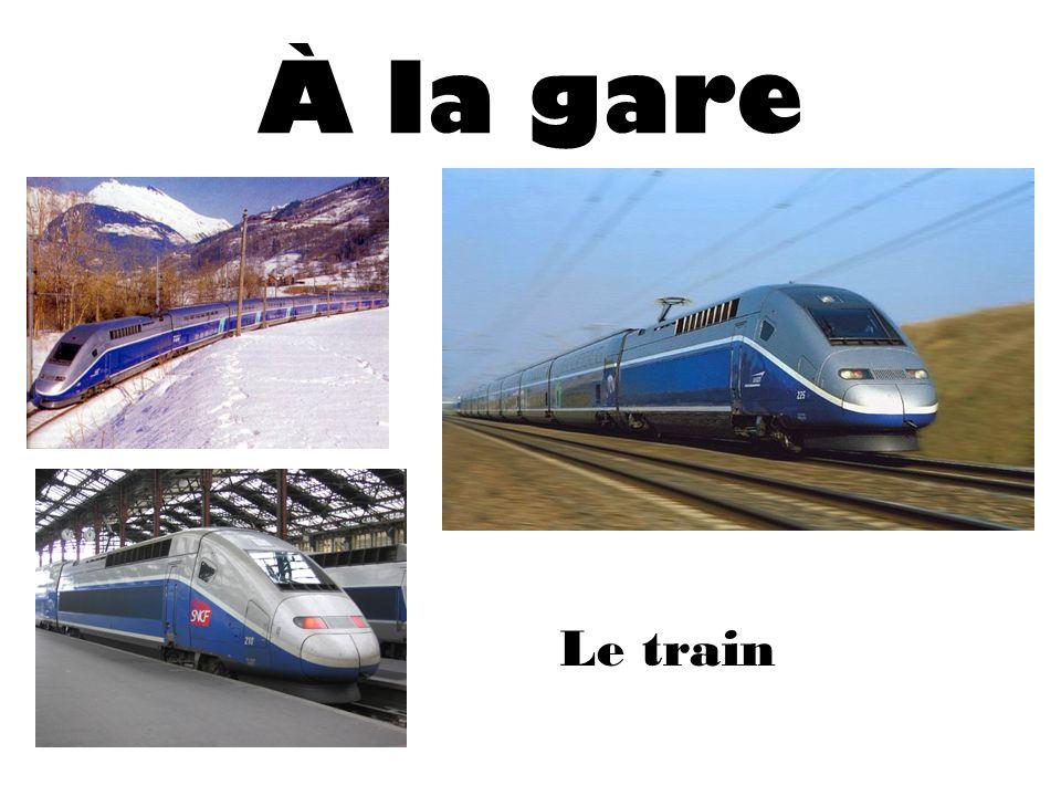 À laéroport/ À la gare Annuler To cancel Manquer/Rater To miss