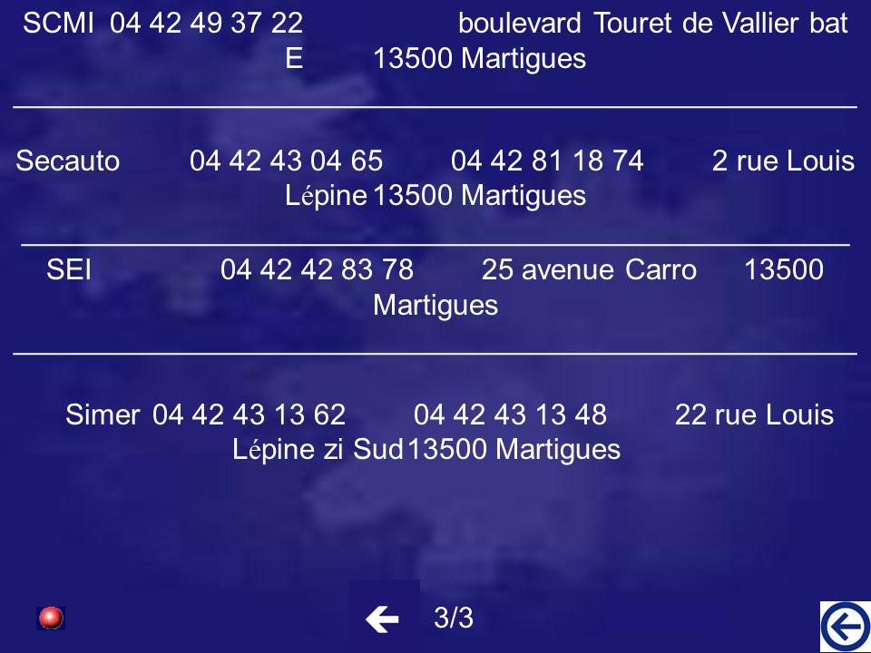 Maintenance et Levage M é diterran é en 04 42 81 53 84 Zone Entrep Naphta Ponteau secteur Chlore 13500 Martigues _____________________________________