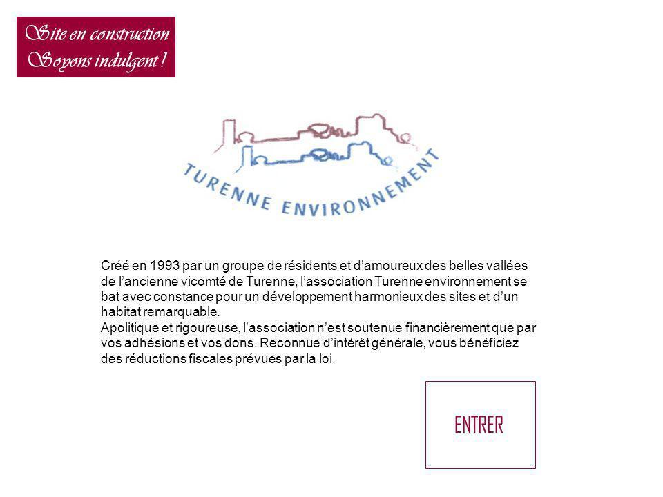 Créé en 1993 par un groupe de résidents et damoureux des belles vallées de lancienne vicomté de Turenne, lassociation Turenne environnement se bat ave