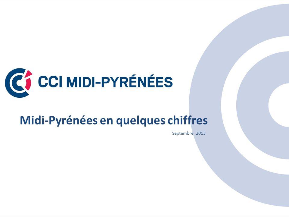 Midi-Pyrénées en quelques chiffres Septembre 2013