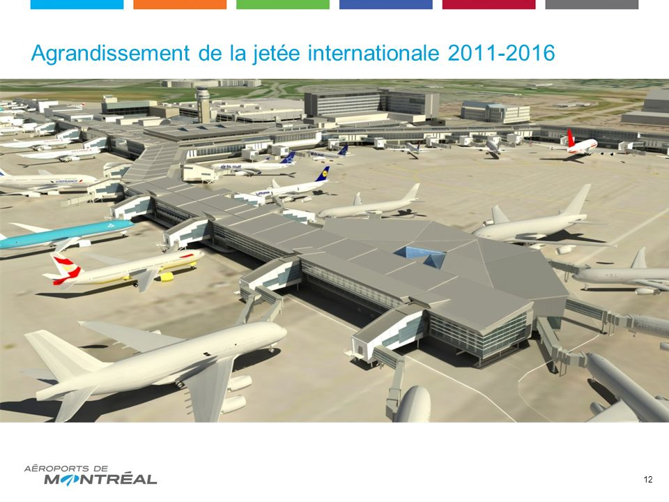 Agrandissement de la jetée internationale 2011-2016 12