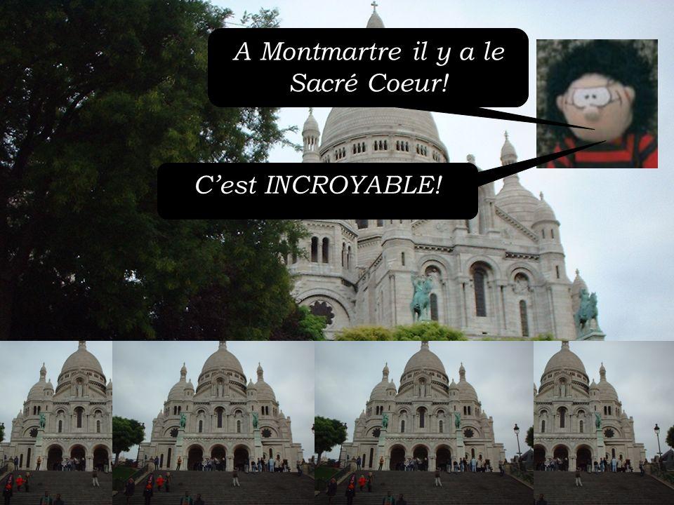 Voici le funiculaire à Montmartre Cest EXTRAORDINAIRE!