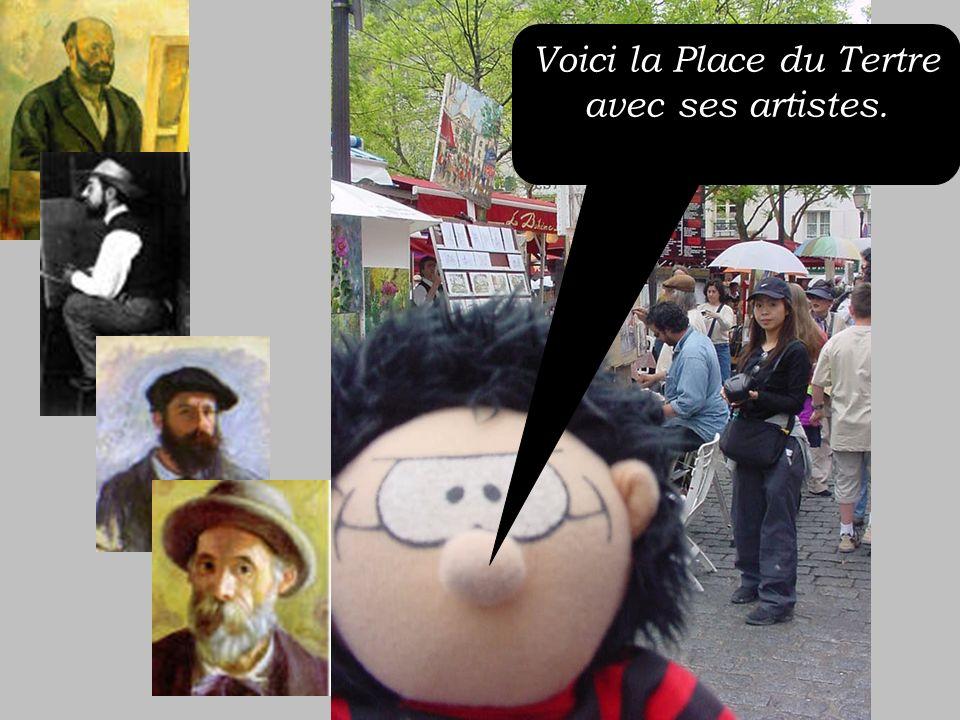 A Montmartre il y a le Sacré Coeur! Cest INCROYABLE!