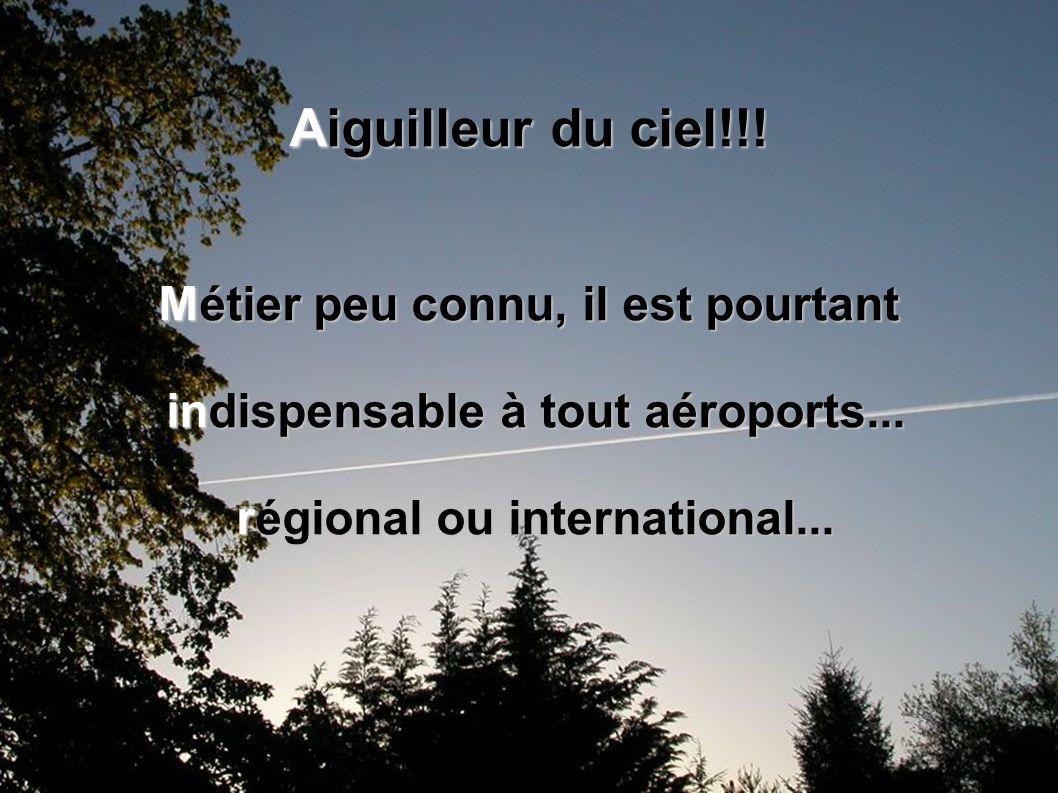La classe de 3e4 du collège Louise de Savoie vous présente son diaporama, en rapport avec le monde de l'aviation: Les aiguilleurs du ciel ou contrôleu