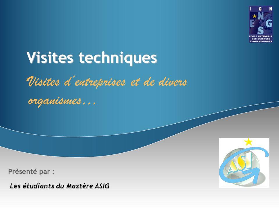 Mastère ASIGPromo 2007/2008 Mastère ASIG Promo 2007/2008 Thème : les collectivités locales La Direction de la Voirie et des Déplacements (DVD) de la mairie de Paris