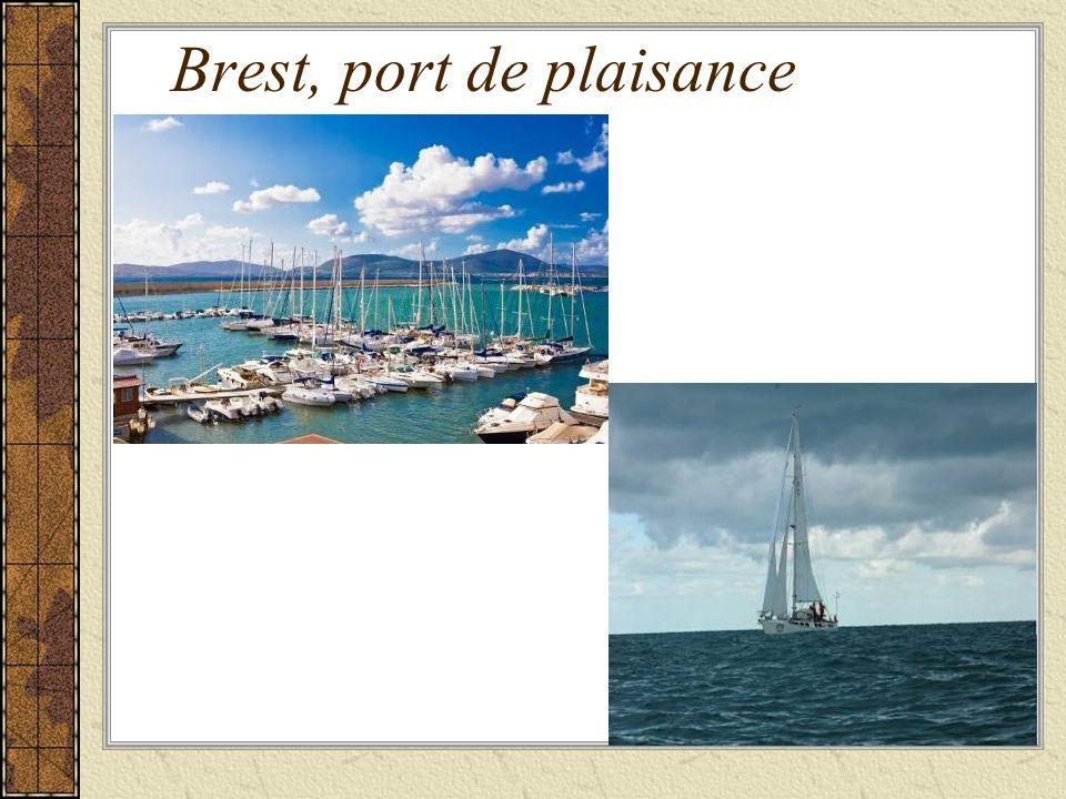 Brest, port de plaisance