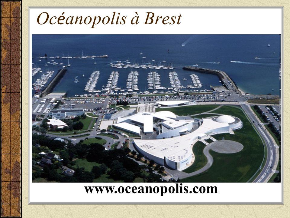 Oc é anopolis à Brest www.oceanopolis.com