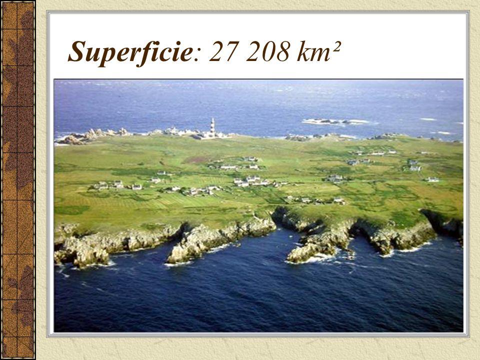Superficie: 27 208 km²