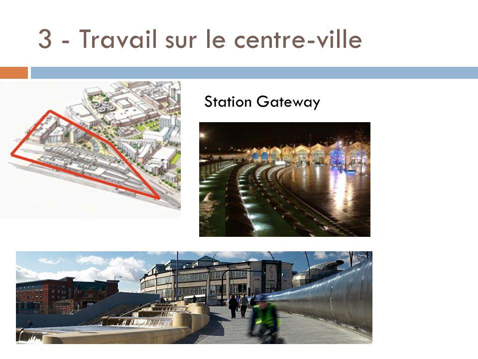 3 - Travail sur le centre-ville Station Gateway
