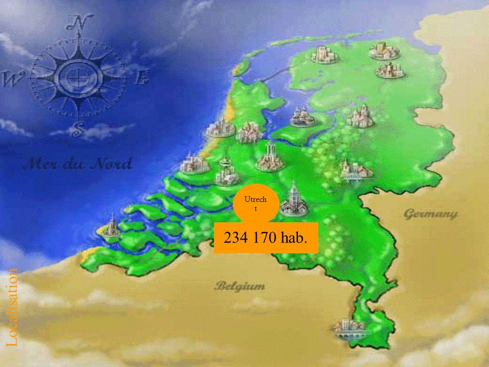 234 170 hab. Utrech t Localisation