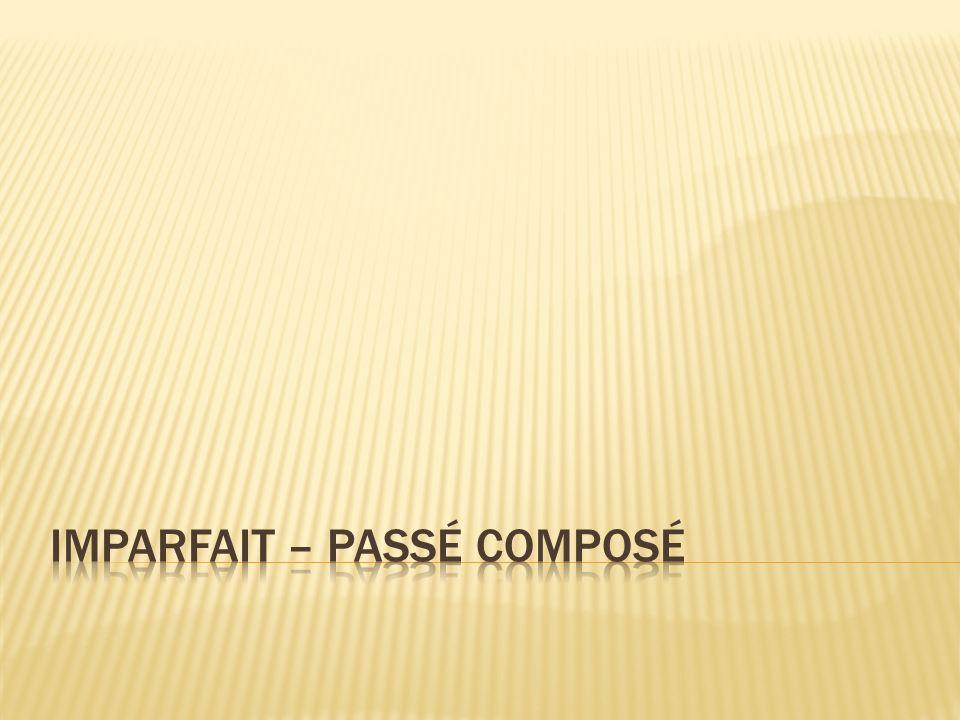 Parfois aussi, on doit former le passé composé avec « être » : avec les verbes pronominaux.