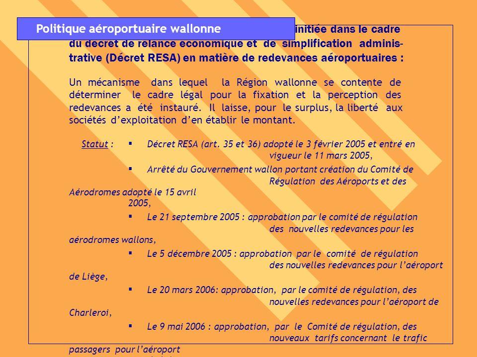 9.Mise en oeuvre de la réforme décrétale initiée dans le cadre du décret de relance économique et de simplification adminis- trative (Décret RESA) en