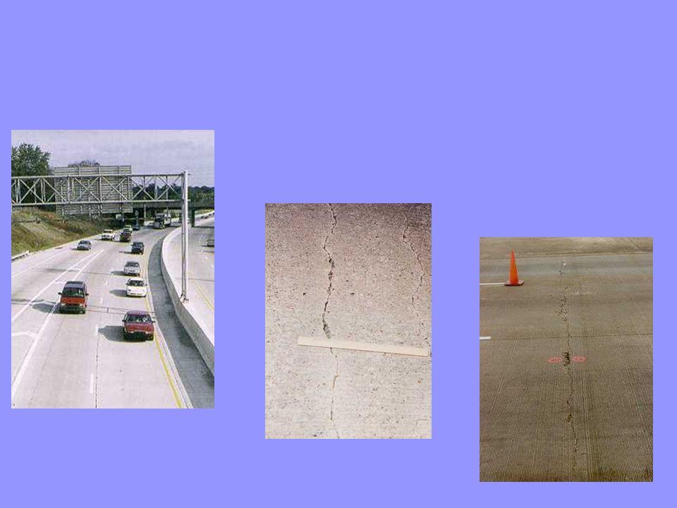 FATIGUE DE LA DALLE DE BÉTON n Fatigue dans la dalle de béton: l La résistance à la fatigue d une dalle de béton dépend du rapport de l effort de flexion dans la dalle et du module de rupture du béton utilisé l Si une charge axiale cause un effort en flexion de 3,5MPa et que le module de rupture du béton est 4,8MPa, le rapport des contraintes sera de 3,5/4,8 soit 0,71