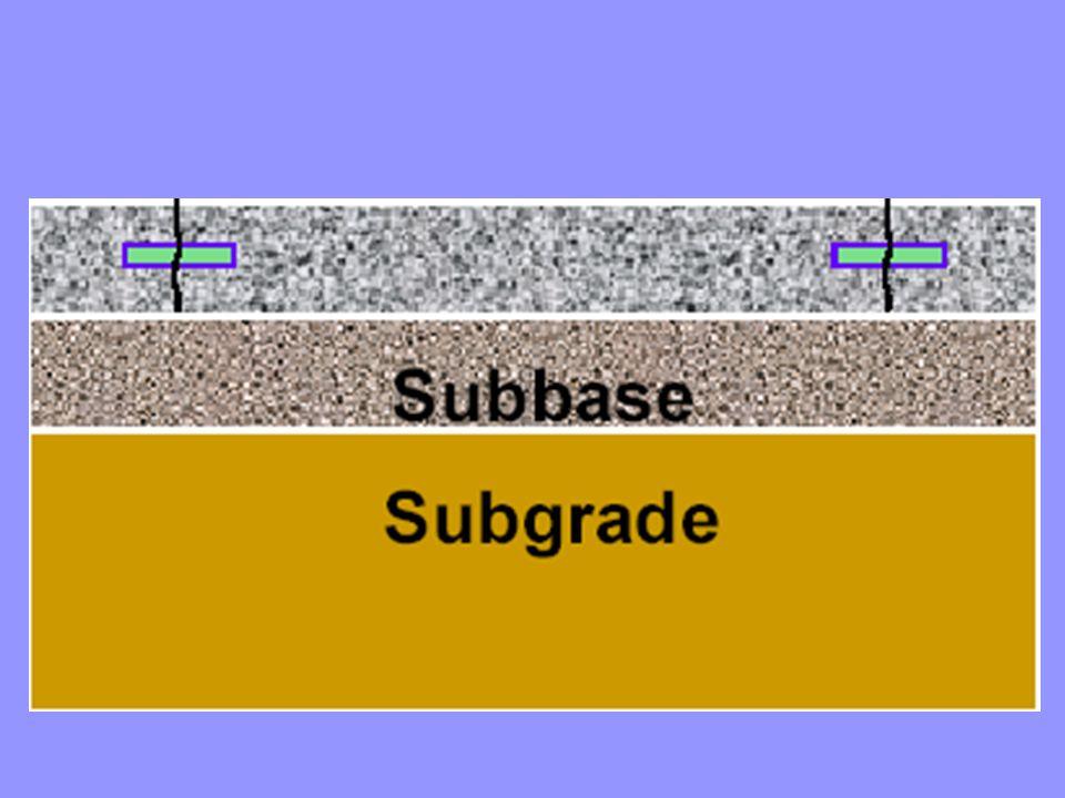 Portland Cement Concrete Surface Slab Stabilized Base Granular Subbase Natural Subgrade Prime Coat
