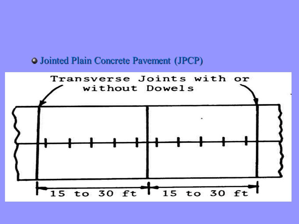 Procédure de design tient compte de: l degré de transfert de charges aux joints l incidence d un accotement en béton l deux critères de design n critère de fatigue n critère basé sur l érosion