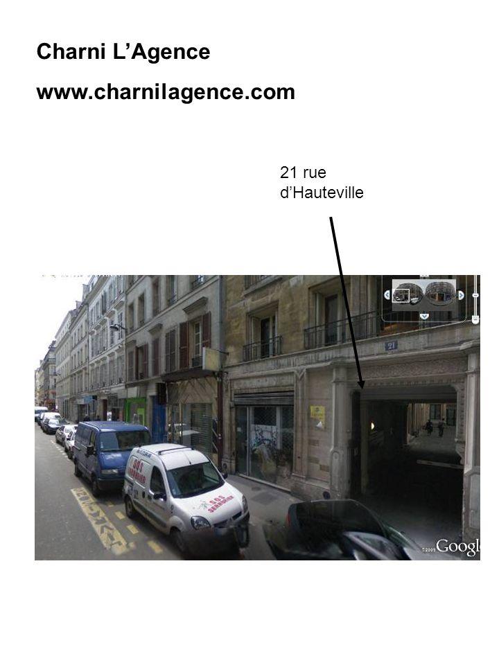 Charni LAgence www.charnilagence.com 21 rue dHauteville