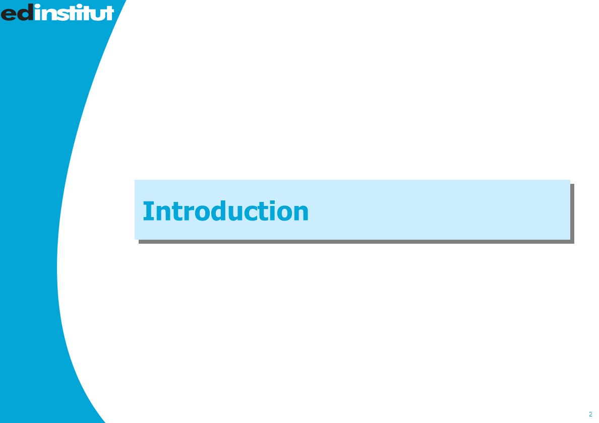 2 Introduction